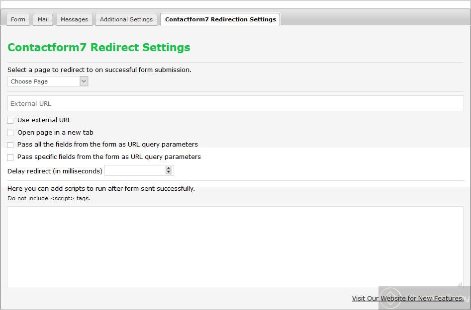 cf7 redirection plugin free