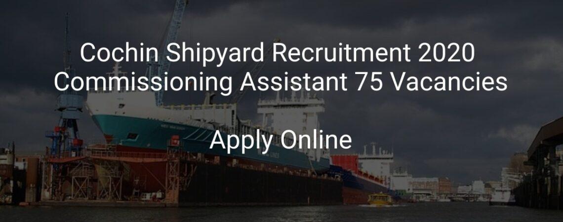 Jobs in shipyard