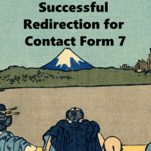 Successful Redirection for Contact Form 7